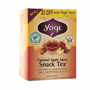 Yogi apple spice tea