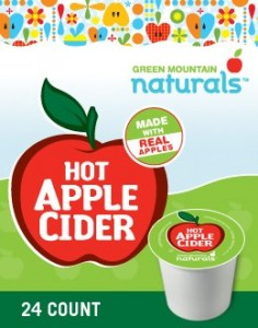Hot Apple cider for K-Cups Keurig